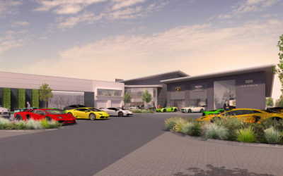 H.R. Owen Back Luxury Market At Hatfield Business Park
